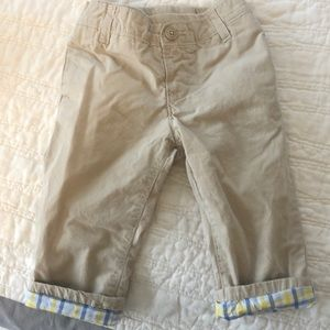 Gap lined khakis! Great for Easter, Spring etc!